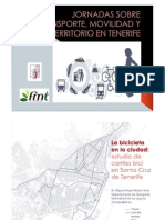 FMT - BICI - Presentacion Carriles Bici de Santa Cruz de Tfe.