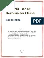 Historia de La Revolucion China