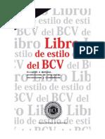 Libro de Estilo Del BCV