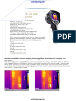 AC FLIR E Series Infrared Camera Datasheet