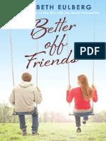 BETTER OFF FRIENDS by Elizabeth Eulberg (Excerpt)