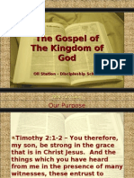 Oil Station Ministries - Content - Gospel of the Kingdom of God
