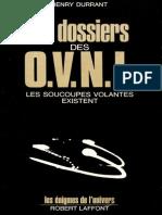 Le Dossier Des OVNIS