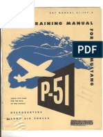 P51D + K Pilot Training AAF Manual-51-127-5, 1945