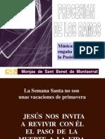 Domingo de Ramos, Monjas de Sant Benet de Montserrat