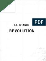 La Grande Révolution - Kropotkin