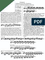 Schradieck - School of Violin Technics - Book 3 - Bowing