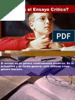 El Esnsayo Critico Presentacion Office 972