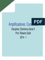 Eletronica Geral II - Parte 1 - Amplificadores - 2014
