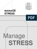 Manage Stress Workbook