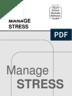 Manage Stress Workbook