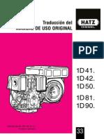 Manual Motor HATZ