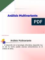 Analisis Multivariante (Presentación)