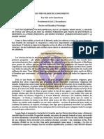 Los Tres Pilares Del Conocimiento - Karl-Arne Gustafsson F.R.C.