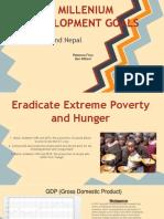 the developing world-millenial goals