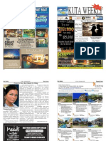 "Kuta Weekly-Edition 375 ""Bali's Premier Weekly Newspaper"""