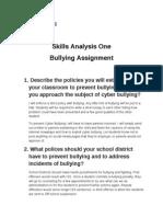 bulling assignment1