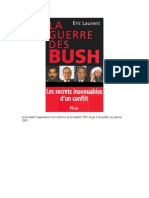 Eric-Laurent - La-Guerre Des Bush-Les Secrets Inavouables D'Un Conflit