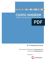 Ceragon IP-10R1 Advanced Course Handbook v4.1