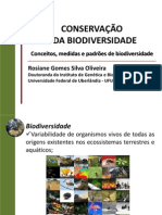 Tema 1- Conceitos, medidas e padrões de biodiversidade