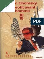 Noam CHOMSKY_Le Profit Avant l'Homme