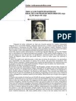 S. S. Pío XII DISCURSO A LOS PARTICIPANTES EN CAPÍTULO GENERAL DE LOS FRAILES MENORES DE 1951