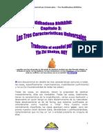 Buddhadasa Bhikkhu Chapter 3 - Three Universal Characteristics-Spanish