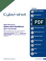Cyber-Shot Manual Camera T-70/T-75-T-200