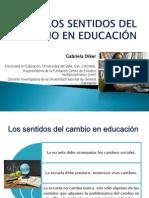 LOS SENTIDOS DEL CAMBIO EN EDUCACIÓN (2)