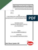 CARACTERIZACIONYPROPIEDADESMECANICASDELASOLDADURADEUNACEROINOXIDABLEFERRITICOAISI430