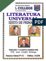 Literatura Universal 6to Grado