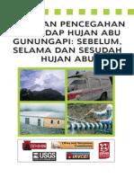 Panduan Pencegahan Terhadap Hujan Abu Gunung Berapi