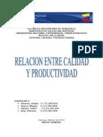 49887566 Relacion Entre La Calidad y La Productividad