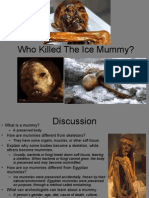Who Killed the Ice Mummy Project