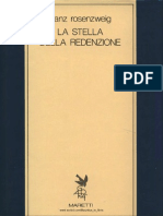 Franz Rosenzweig La Stella Della Redenzione