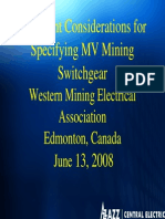 Specifying MV Mining Switchgear_AZZ Central Electric - Jun 08