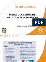 Archivos electrónicos