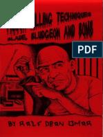 Prison Killing Techniques