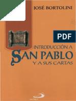 Bortolini, Jose Introduccion a San Pablo y Sus Cartas