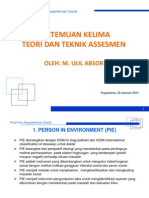 Pertemuan 5 - Teori Dan Teknik Assesment