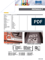 RENAULT Color Information