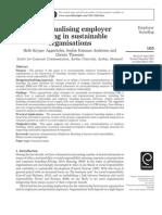 Aggerholm Et Al (2011) Conceptualising Employer Branding in Sustainable Organizations