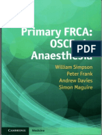 Primary FRCA OSCEs in Anaesthesia