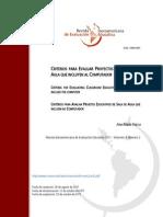 1. Vacca, Ana Maria (2011) Criterios Para Evaluar Proyectos Educativos en El Aula Que
