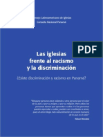 Panamá    las Iglesias Frente al racismo y la Discriminación