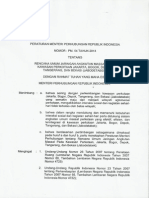 Permen Perhub No 54 Tahun 2013 Tentang Rencana Transportasi Masal Jabodetabek