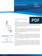 PHILIPPINE REAL ESTATE MARKET 3Q 2012