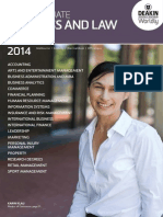 Postgraduate Business and Law 2014
