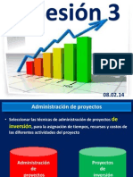 SESION 3- ADMINISTRACIÓN DE PROYECTOS