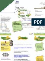 Brosur PBP_FPTV Pelajar Baru Sem II Sesi 2012-13
